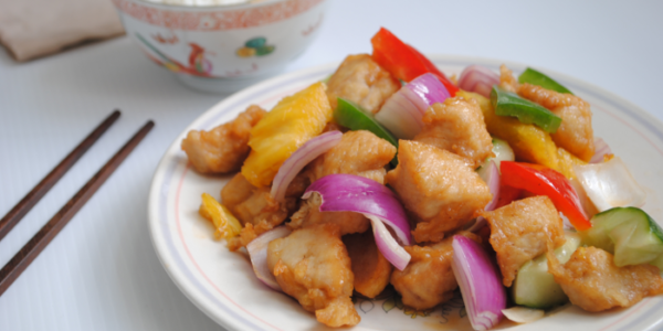 Chinese sweet and sour chicken recipe with detail notes sweet and sour chicken quick easy chinese recipe forumfinder Choice Image