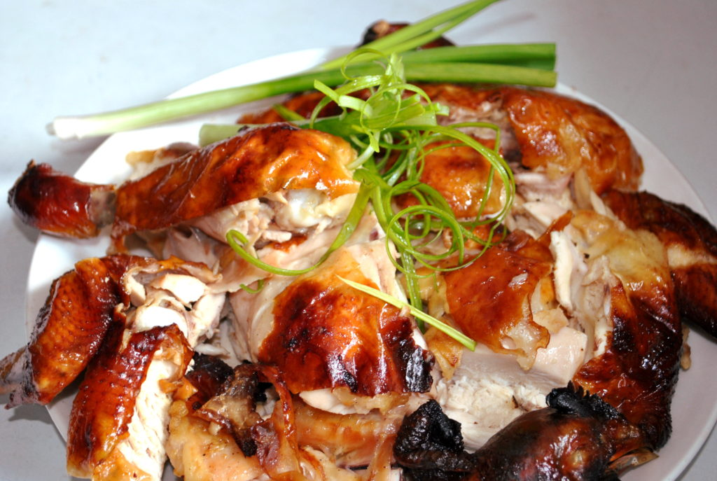Roast Chicken Recipe - Chinese Style - Taste Of Asian Food
