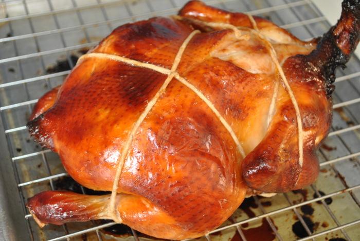 Roast Chicken Recipe - Chinese Style - Taste Of Asian Food
