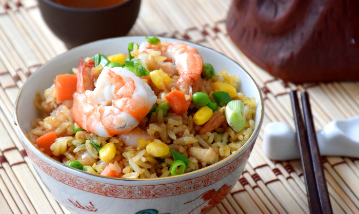 How to cook the best restaurant style chinese fried rice shrimp fried rice ccuart Image collections
