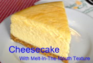 Asian food - perfect cheesecake