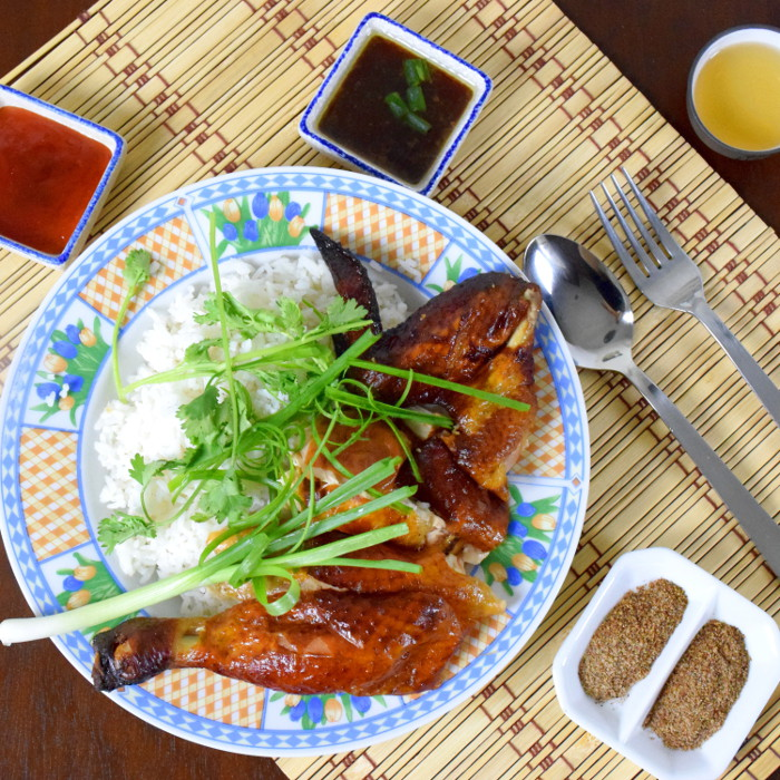 Chinese roast chicken recipe