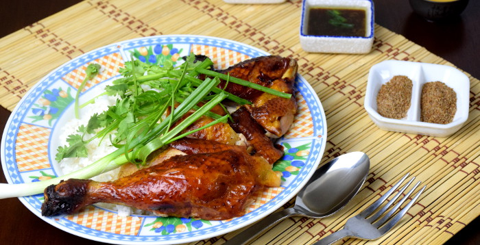 Chinese roast chicken