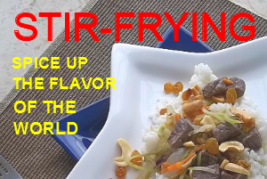 page - world stir-frying