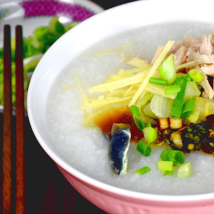 Chinese congee recipe