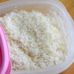 frozen rice for porridge