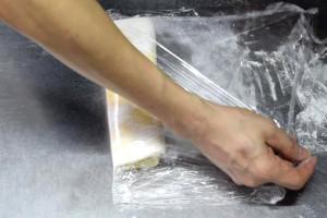 folding pastry