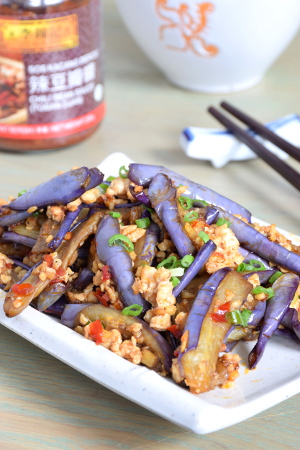 easy Asian recipes- eggplant