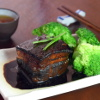 Chinese braised pork belly image