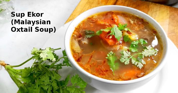 Malaysian oxtail soup