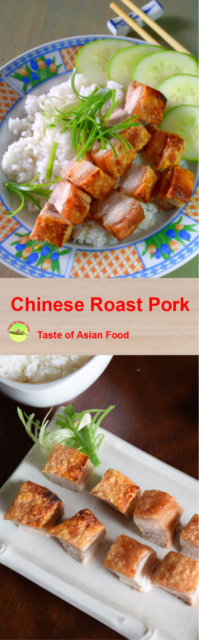 Chinese roast pork to pin