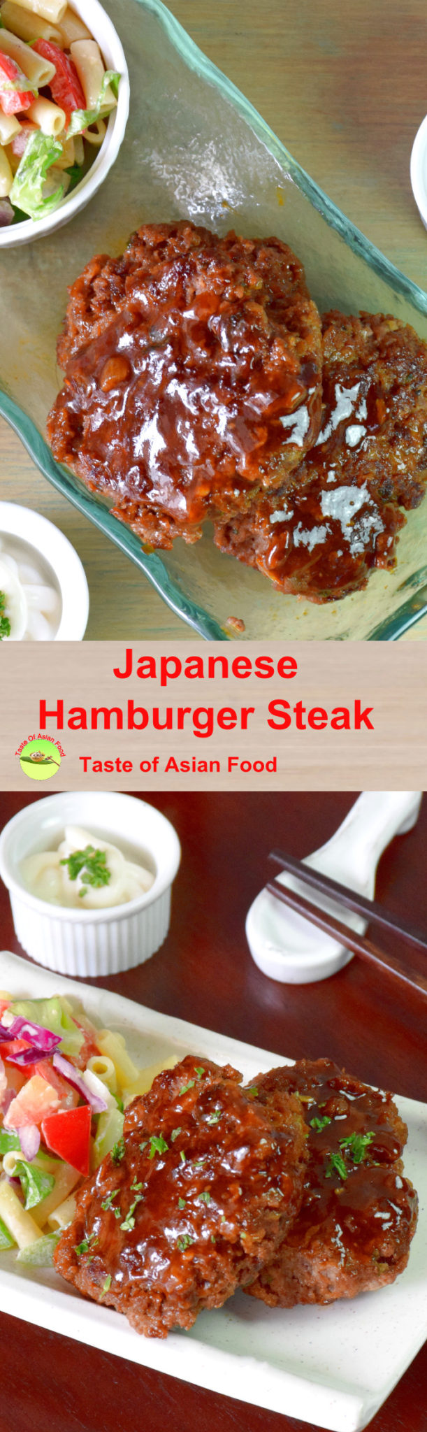 Hamburger steak pin
