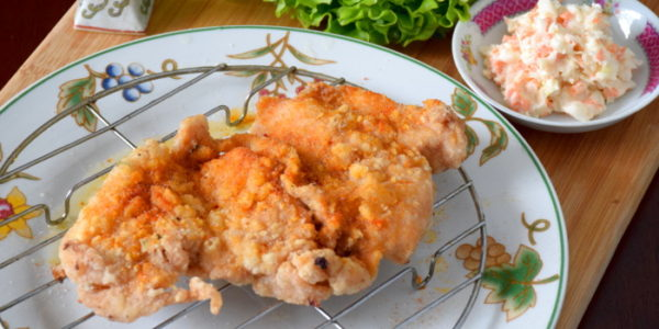 Taiwanese chicken steak- how to get the outstanding crunchy texture