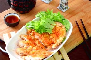 Taiwanese chicken steak