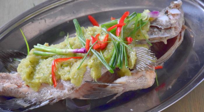Chinese steamedfish