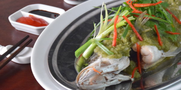 Chinese steamed fish featured image