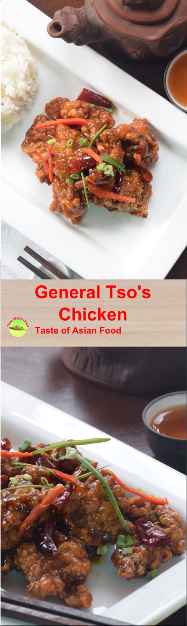 General's Tso chicken pin