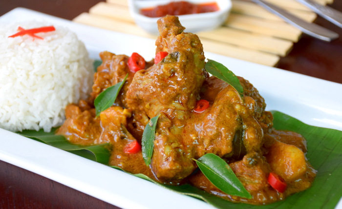 authentic chicken curry