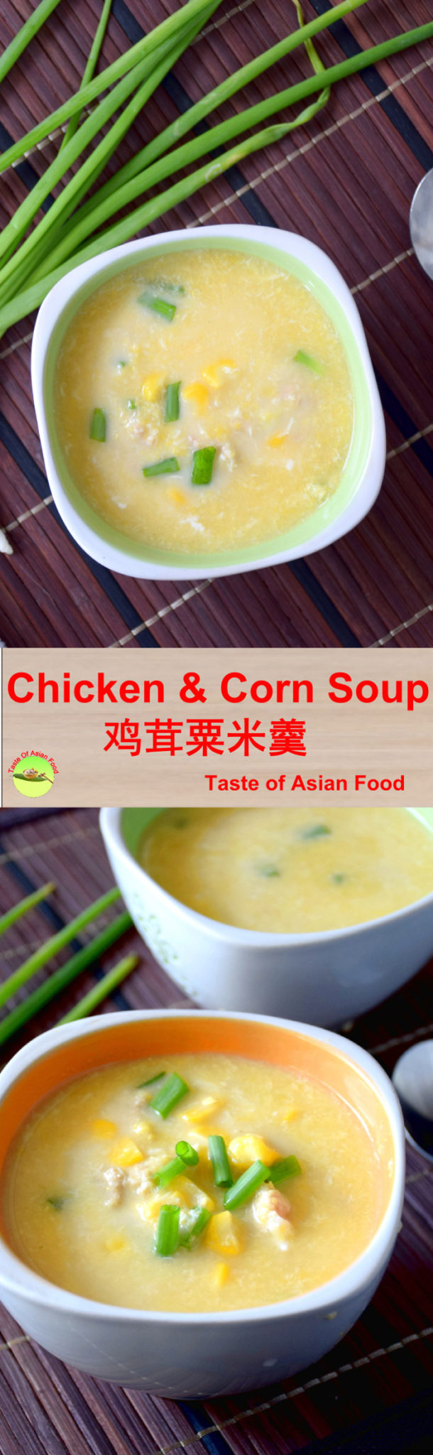 chicken and corn soup pin