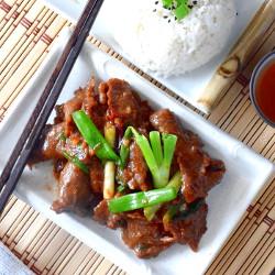Mongolian beef recipe image