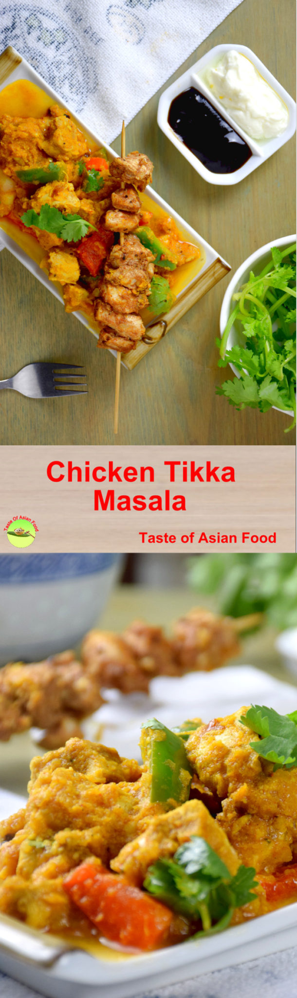 Chicken tikka masala pin