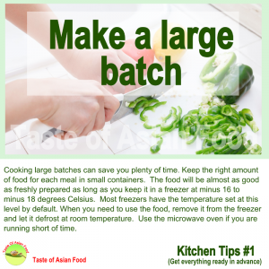 tips cooking