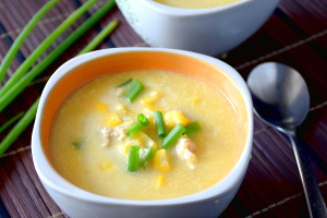 Cream and chicken soup