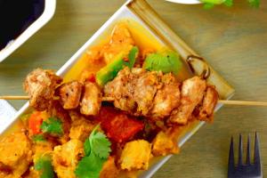 Chinese tikka masala