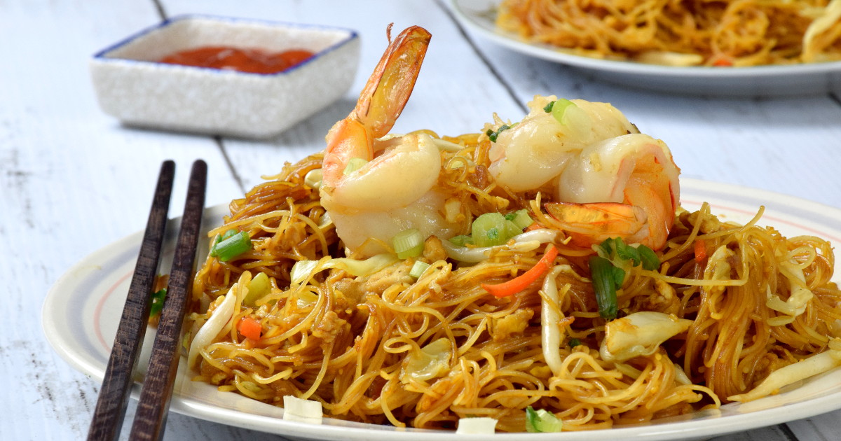 How To Fry The Best Singapore Noodles Rice Vermicelli Recipe