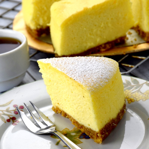 Japanese souffle cheesecake