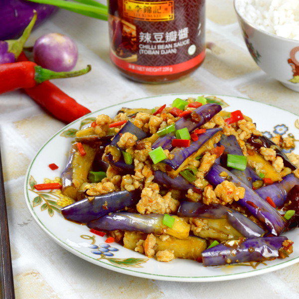 How to stir fry eggplant