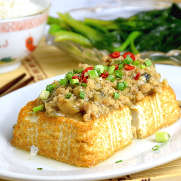 tofu with minced meat