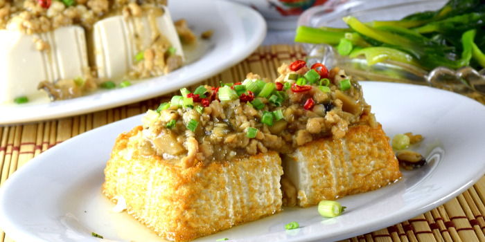 Tofu with minced pork recipe – How to cook in 4 easy steps