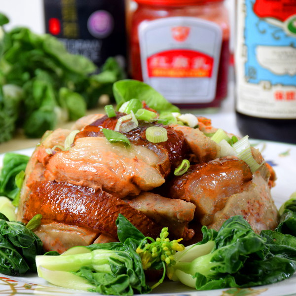 braised pork belly taro
