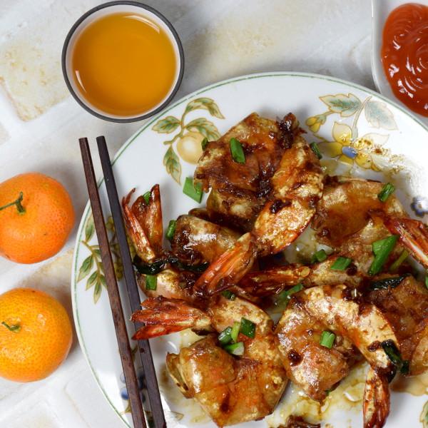 pan-fried prawns recipe