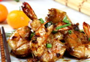 pan-fried shrimps