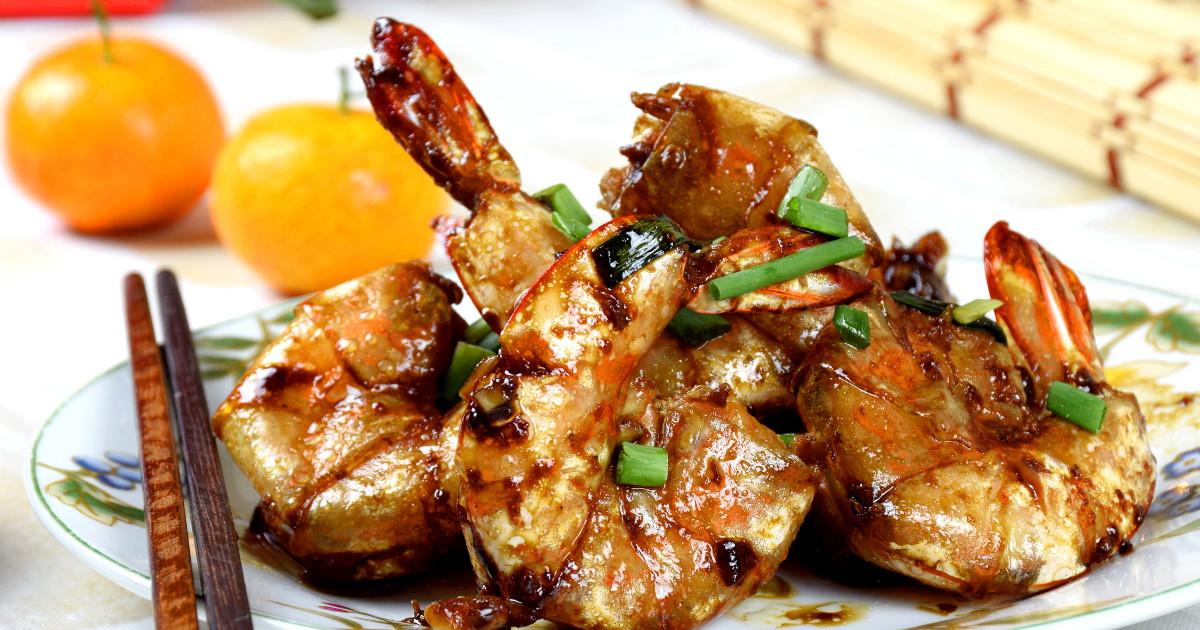 pan-fried shrimps