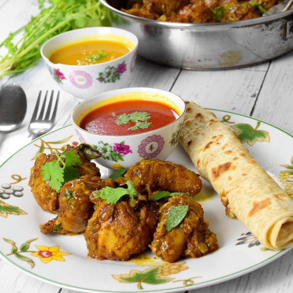Chicken Varuval chettinad