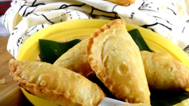 Malaysian curry puffs