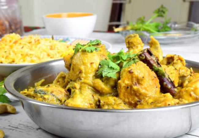 Korma chicken