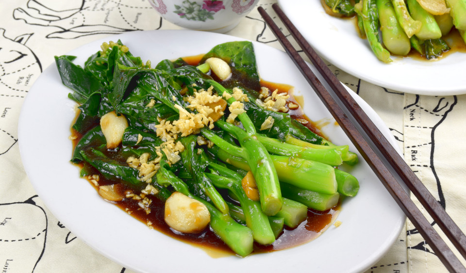 Chinese broccoli – How to cook in 3  simple steps