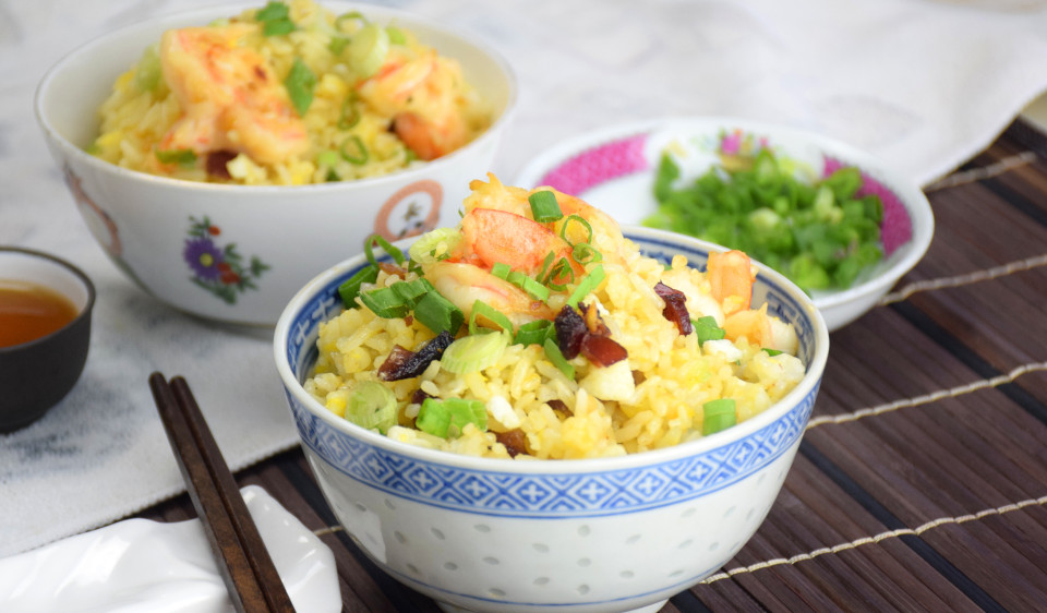 Yang Chow fried rice- How to cook it at home