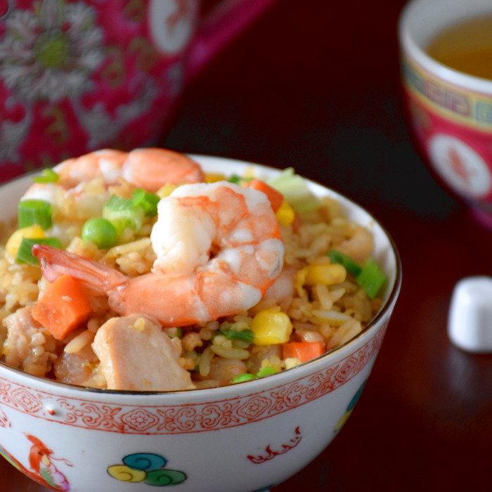 Cantonese fried rice