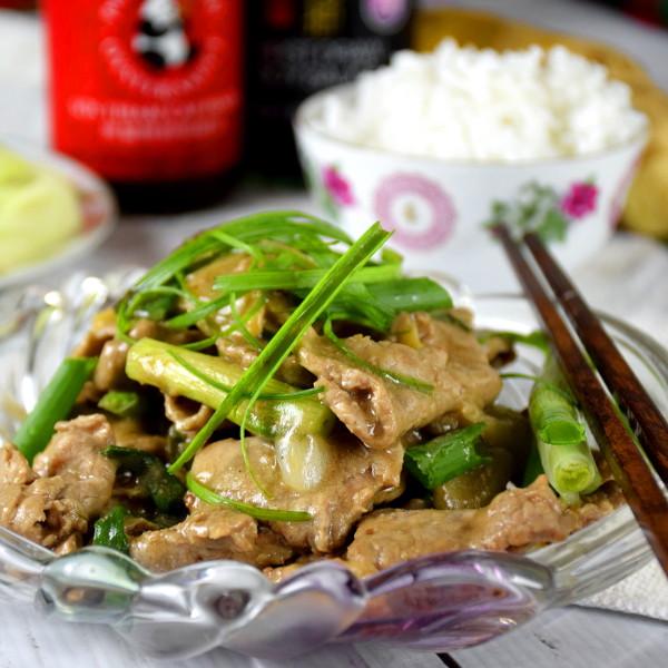 Chinese stir fry beeg