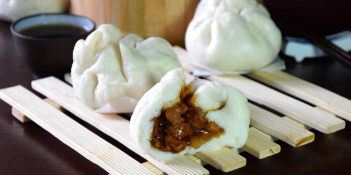 steamed Char siu bao