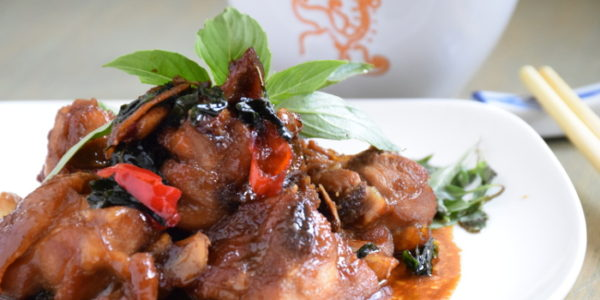 Three Cups Chicken- Easy Taiwanese Recipe