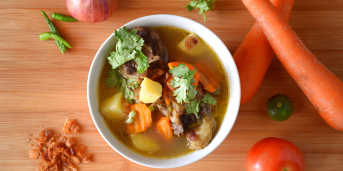 Sup buntut or oxtail soup