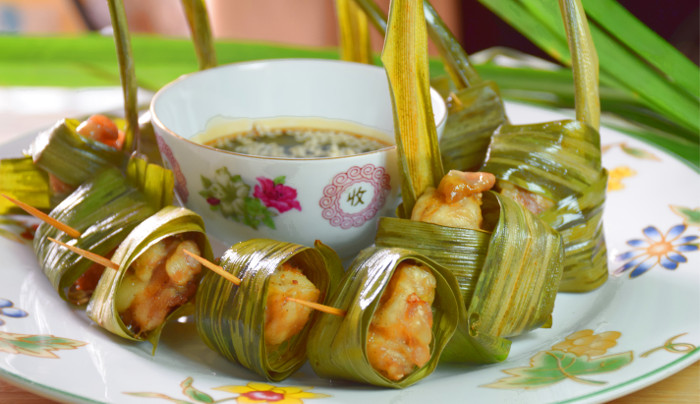 pandan leaf chicken recipe