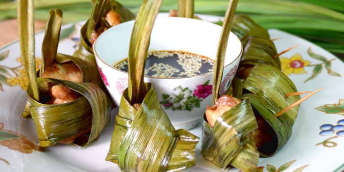 Pandan leaf chicken - easy Thai recipe