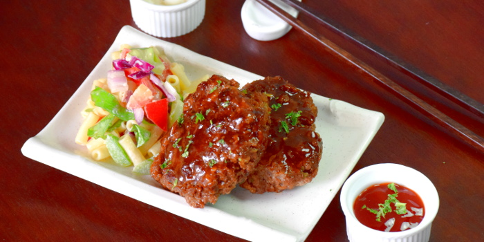 Japanese hamburger steak recipe